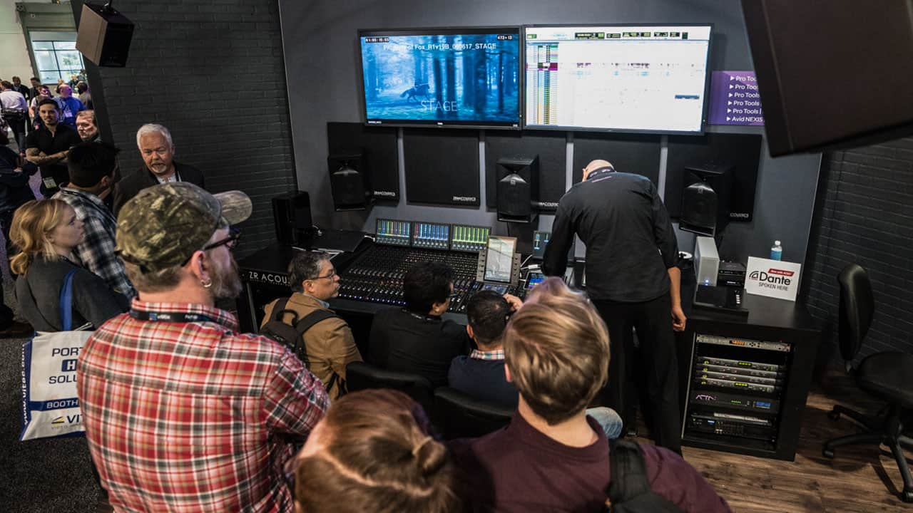 Avid at NAB 2019: Preview of Pro Tools Video Engine Development