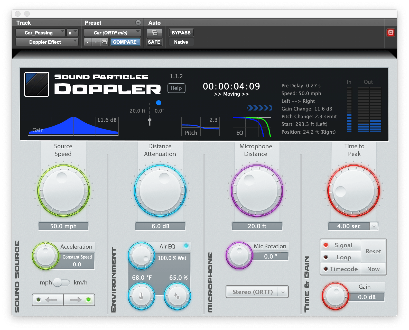 Achieving Natural Sounds With Doppler Air