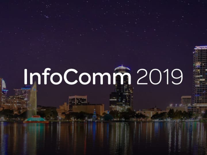 Avid Live Sound Solutions at InfoComm 2019