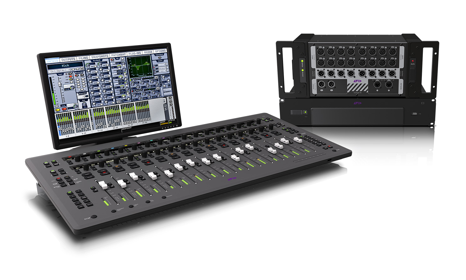 Picture 2 Avid S3L System