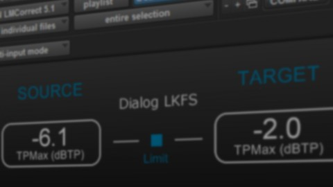 NUGEN Audio LM-Correct Audio Loudness Correction