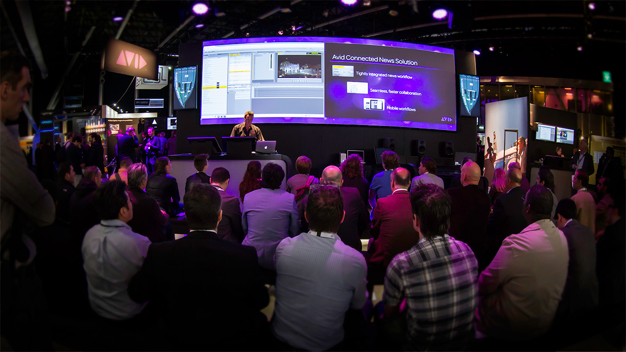 IBC 2013 On The Road with Avid Interplay