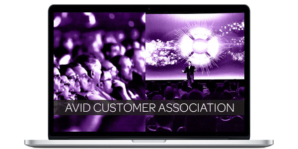 Join the Avid Customer Association