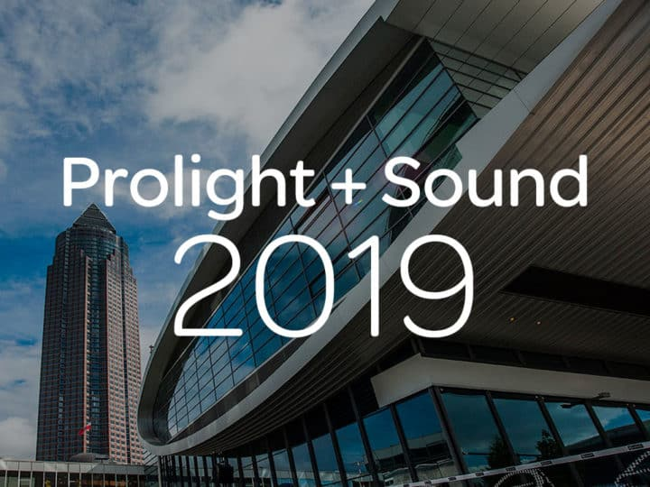 Avid Live Sound and Studio Solutions at Prolight + Sound 2019
