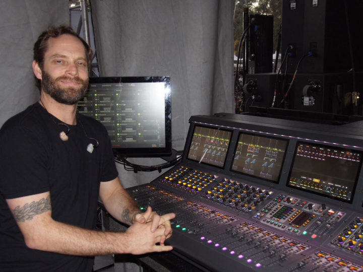 Danny Badorine on Mixing Monitors for A Perfect Circle and Incubus on S6L