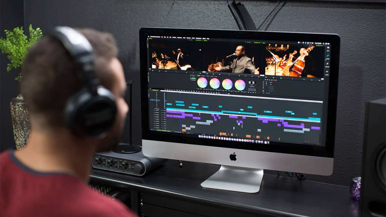 Media Composer 2019 edit suite