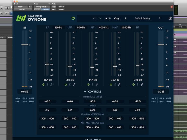 Leapwing's DynOne AAX Plugin Offers a Different Perspective on Compression