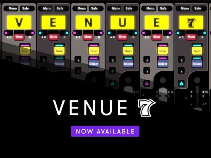 Avid VENUE 7 Software Now Available!
