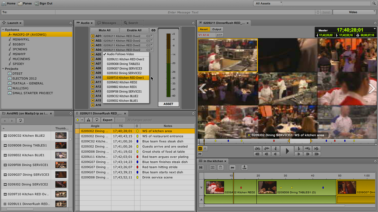 Powerful multi-camera tools in Interplay Central