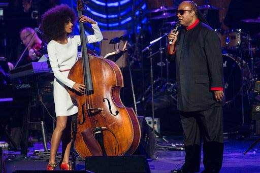 Strings with Stevie Wonder and Esperanza Spalding.